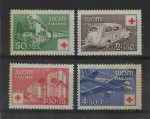 Finland 1944 Red Cross Fund Mint set