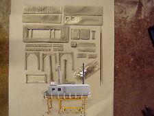 P&D Marsh N Gauge N Scale M47 Elevated sludge drying plant kit requires painting