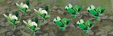 "Broccoli Cauliflower Plants Gard 5/8"" Width 20 Pack O Scale JTT Scenery Products"