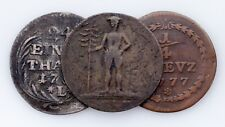 1754-1796 German States Coin lot of 3 (Good to Very Fine Condition)