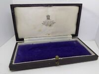 ANTIQUE JEWELLERY/MEDAL BOX. SPENCER & Co, MASONIC MANUFACTURERS, LONDON (NCB)