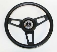"1970-1977 Mustang Cobra II Grant Black Steering Wheel Black Spokes 13 3/4"" Cobra"