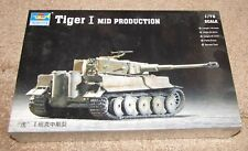 New Trumpeter- Tiger I Mid Production- 1:72 #07243