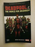 Brand New Deadpool & Mercs for Money Merc Madness 1-5 Marvel TPB Trade Paperback
