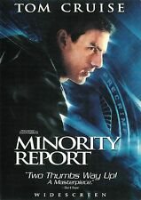 Minority Report ~ Tom Cruise Max von Sydow ~ 2-disc Dvd Set dts Ws Free Shipping