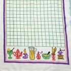 Vintage Printed Linen Kitchen Toweling Tea Towel Fabric