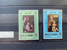 New Hebrides 1972 Stamp Set Mnh Christmas