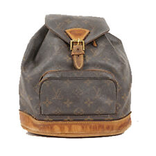LOUIS VUITTON MONTSOURIS MM BACKPACK SHOULDER DAY BAG MONOGRAM Leather M51136