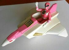 Power Rangers 1995 Pink Power Ranger Kimberly with Space Vehicle/Jet
