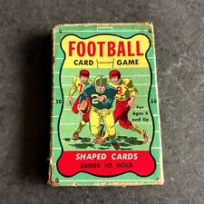 Vintage Football - Shaped Playing Cards
