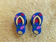 FLIP-FLOPS shoe charms/cake toppers!! Adorable Pair!! FAST USA SHIPPING!