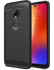 For Motorola T-Mobile REVVLRY+ Plus Shockproof Brushed Rubber Soft Case Cover