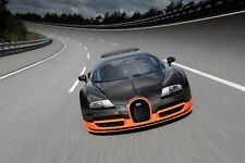 {24 inches X 36 inches} Bugatti Veyron Super Sport Poster #02 - Free Shipping!