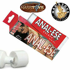 Anal-Ese Lube .5oz Cherry Anal-Sex-Lubricant Desensitize-Cool-Numb-Ease NassToys