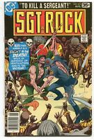 Sgt Rock 319 VF+ DC Comics CBX34