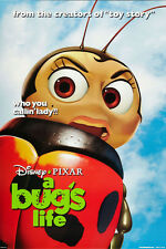 A BUG'S LIFE MOVIE POSTER 2 Sided ORIGINAL LADY BUG 27x40 KEVIN SPACEY