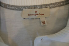 STUNNING ERMENEGILDO ZEGNA WHITE SHIRT SHORT SLEEVE XXXL 58 100% COTTON NO RES!