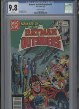 BATMAN AND THE OUTSIDERS #2 MT 9.8 CGC HIGHEST 1 OF 1 CANADIAN PRICE VARIANT