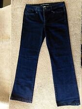 Banana Republic Boot Cut Women's Dark Wash Indigo Blue Trouser/Jeans EUC