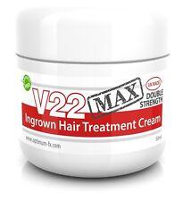 V22 MAX Behandlungscreme eingewachsene Haare Rasurstoppeln Rasur Hautausschlag