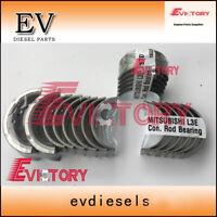 L3E main/crankshaft bearing and L3E con rod bearing for genset