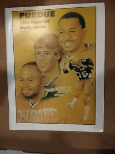 Vintage 1983 PURDUE University Football Information Media / Press Guide