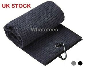 Golf Towel Carabiner Fitting - FREE FAST DELIVERY