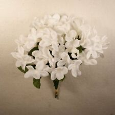 Artificial flowers silk flowers ebay stephanotis silk wedding flower white 12 piece lot 00110704001 mightylinksfo