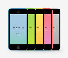 Original Unlocked Apple iPhone 5C - iOS 16GB 4.0 Inch 4G LTE Siri 8MP Smartphone