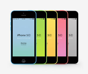 Unlocked Apple iPhone 5C - iOS 16GB 4.0 Inch 4G LTE Siri 8MP Original Smartphone