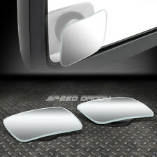 """PAIR 2""""ADJUSTABLE SQUARE STYLE CONVEX BACK/REAR TOW SIDE VIEW BLIND SPOT MIRROR"""