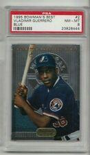 Vladimir Guerrero Expos 1995 Bowman's Best #2 Blue Rookie Card rC PSA 8 QTY