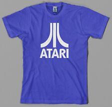 Atari Logo T Shirt, authentic asteroids centipede arcade 2600 5200 7800 jaguar