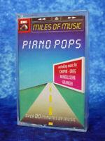 PIANO POPS Miles of Music Chopin Beethoven Faure RARE AUDIO CASSETTE TAPE ALBUM