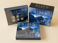 Riven the Sequel to The Myst within 5 Cards Playstation 1 PS1 1997 JAPAN Enix