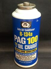 R-134a Refrigerant PAG 100 Oil Charge Auto Air Conditioner 3oz. *FREE SHIP*