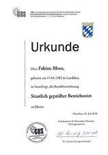 Projektarbeit  - Staatlich geprüfter Betriebswirt  - Vorlage - Note: 2 - Projekt