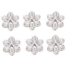 50Pcs/Set Filigree Flower Crafts Charms Connectors DIY Pendant Jewelry Findi.dr