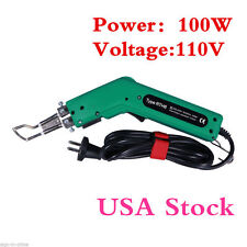 USA Stock! 100W 110V Hot Knife RTH8 Heat Cutter Tool for Banner Rope Sponge