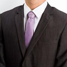 JACKTIES Silk Ties for Men - Conference Call (LAVENDER)