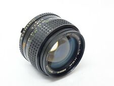 Minolta MC Rokkor-PG 50mm F1.4 Prime Lens. Stock No u9374