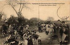 CPA Foret de Berce - Equipages de Champchevrier d'Andigne & de Layre (391122)