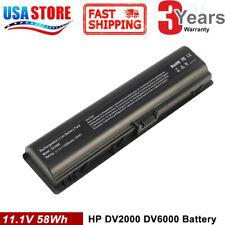 for HP Pavilion DV2000 DV2100 dv2200 dv2400 dv6000 dv6100 dv6300 dv6500 battery