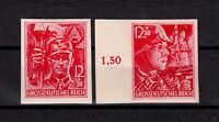 Deutsches Reich, 909 - 910 ,  geschnitten, 909 mit Rand,  postfrisch, siehe Scan
