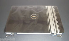 NEW Genuine Dell Inspiron 1525 LCD Back Cover Top Lid Black w/Silver Strip KY320