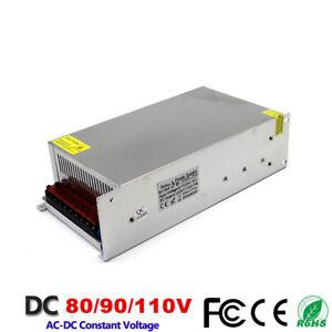 600/720/800/1000/1200W Switching Power Supply 110/220VAC-DC70 80 90V Transformer