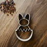 Easter Bunny Egg Cookie Cutter - Fondant & Biscuit- Instagram - 3 Sizes - 2