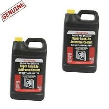 2 Gal Long Life Engine Coolant / Antifreeze for Lexus Scion Toyota Genuine Pink