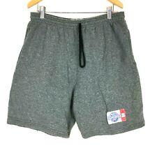 Spalding Mens Shorts Medium M Gray Sweat Pants Elastic Drawstring Athletic