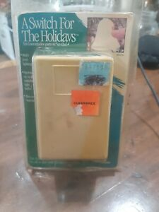 Vintage HomeMate A Switch For The Holidays Christmas Touch Light Dimmer